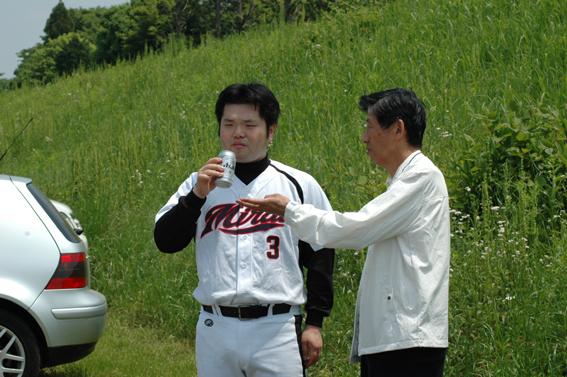 相澤とビールと並河先生