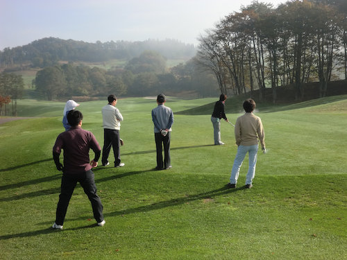 ゴルフ風景【4】