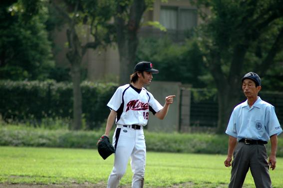小野と審判